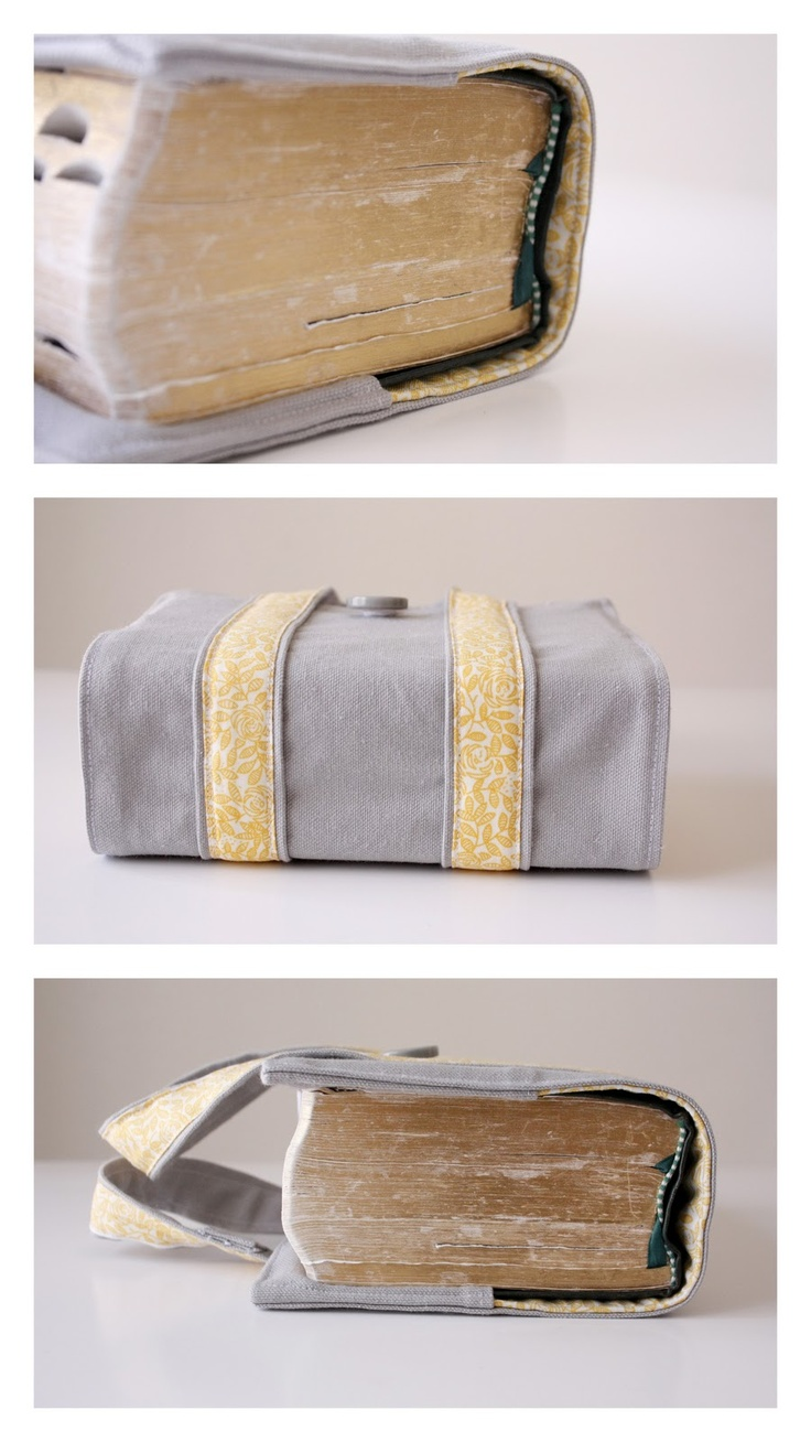 Oh my gosh, I LOVE THIS!!!! With this I can sew my own super cute Scripture Cover! :D