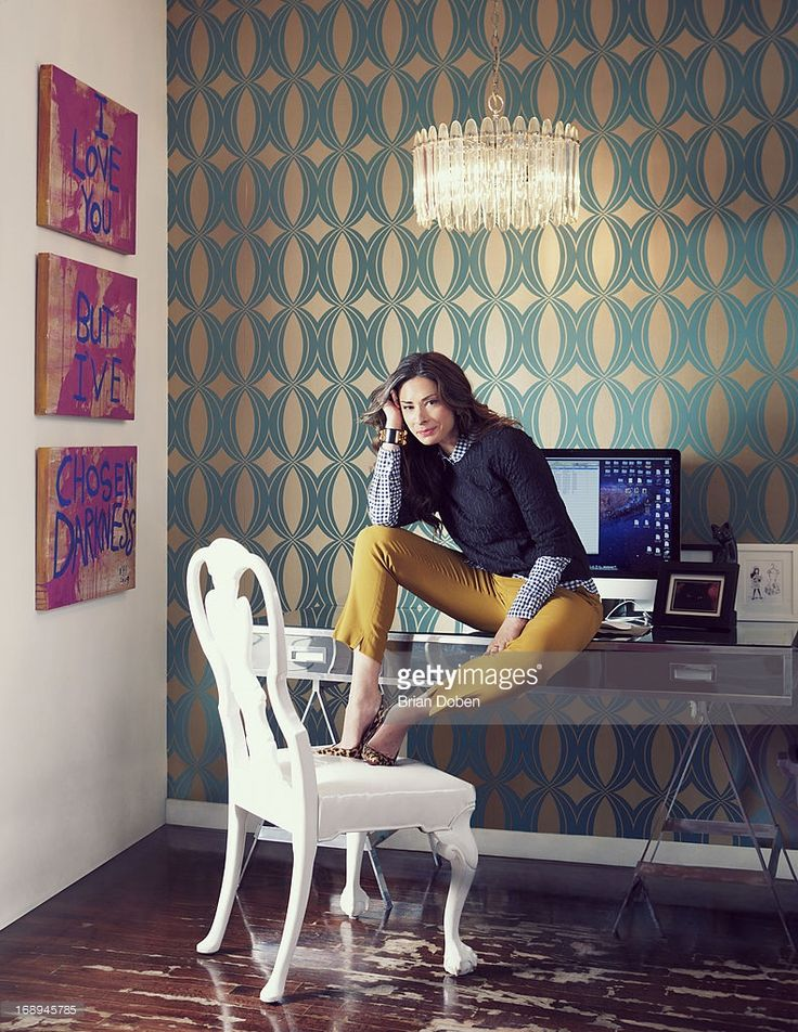 Stylist and fashion consultant Stacy London is photographed for People Magazine on September 5, 2012 in New York City.