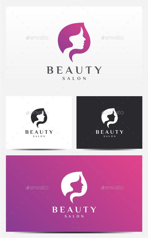 Beauty Salon Logo — Photoshop PSD #beautiful #beauty • Available here → https://graphicriver.net/item/beauty-salon-logo/14546404?ref=pxcr