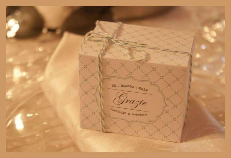 SEGNAPOSTO-WEDDING RUSTIC-CHIC- BOXE-DIY-HANDMADE