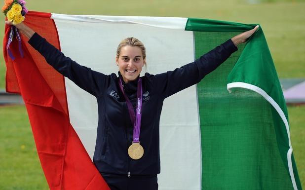 Jessica portA-   bandiera    -  L'olimpionica del tiro a volo Jessica Rossi sarà la portabandiera italiana ai prossimi Giochi del Mediterraneo in programma a Mersin, in Turchia,  dal 20 al 30 giugno. La delegazione azzurra sarà   composta da 419 atleti, di cui 259 uomini e 160 donne, di cui 8 campioni olimpici, 23 mondiali e la Nazionale  di pallanuoto