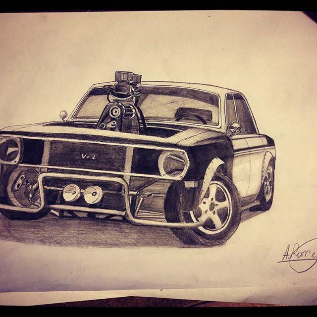Сиквел... #ГАЗ24 #Рисунки #GAZ24 #Volga
