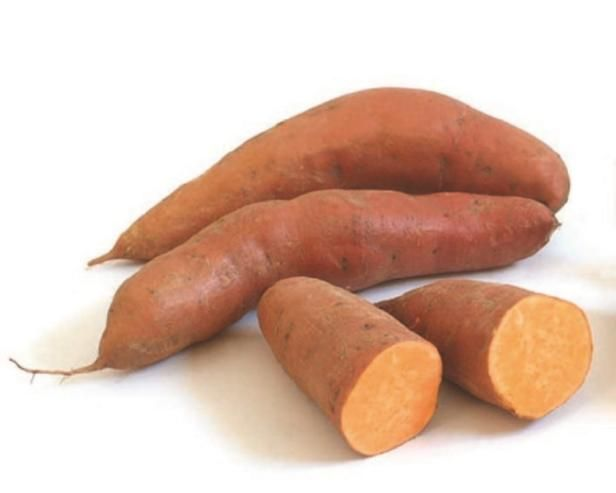 Sweet potatoes come in two forms: vining and bush varieties. Both types thrive in the hot summer sun and are relatively easy to grow.