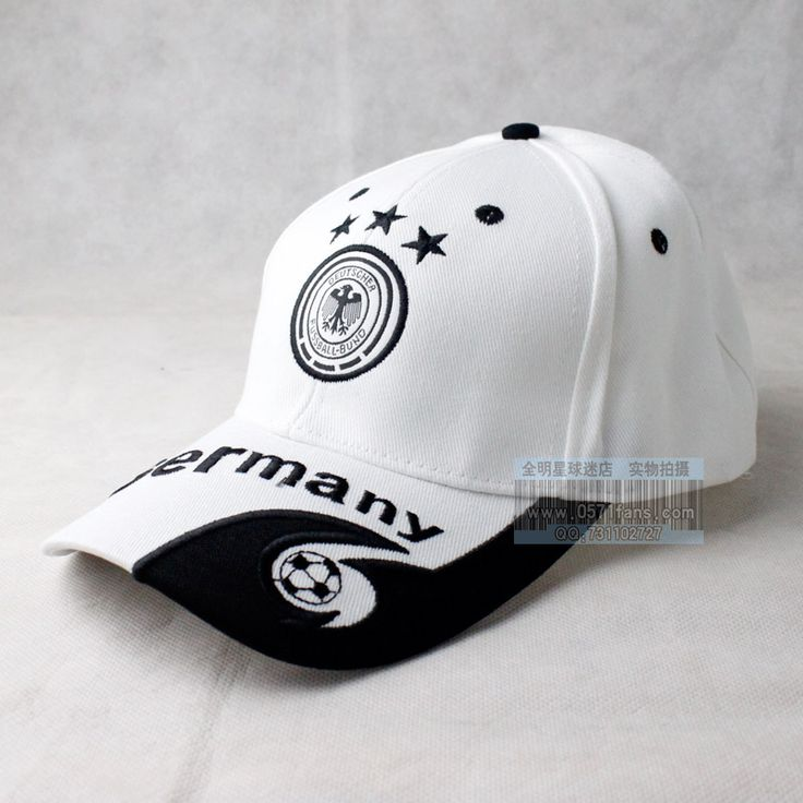 Germany-Team-logo-fans-embroidery-sun-hat-cap-baseball-cap-football-hat-white.jpg (800×800)