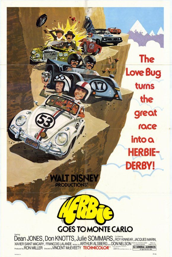 Herbie Goes to Monte Carlo (Re-issue) , starring .  #