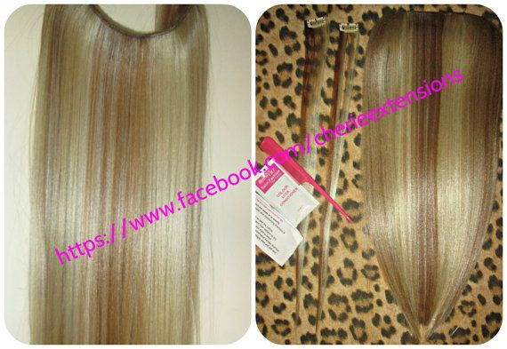 WOW The Syn Halo Hair Extensions Flip In by CherieHairExtensions