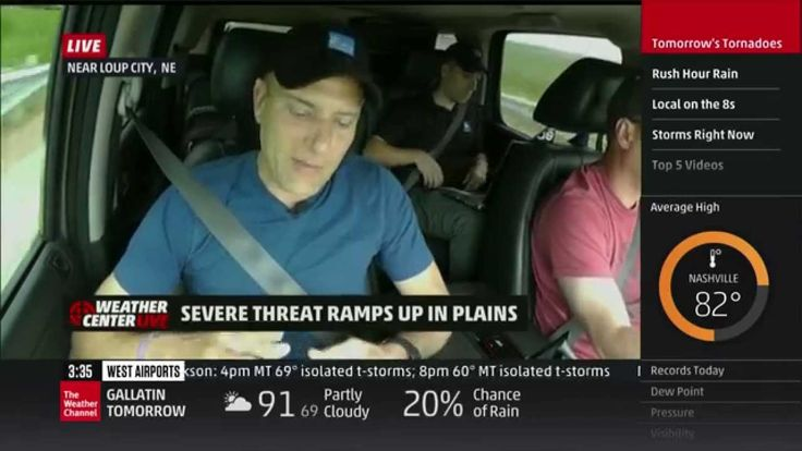 awesome Weather Videos - Severe Weather Coverage: June 3, 2014, 1-4pm - The Weather Channel #Weather and  #News