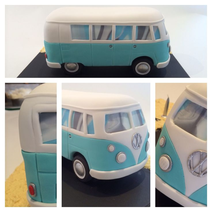 Kombi Van cake. By  https://m.facebook.com/profile.php?id=253457001361590&ref=bookmark