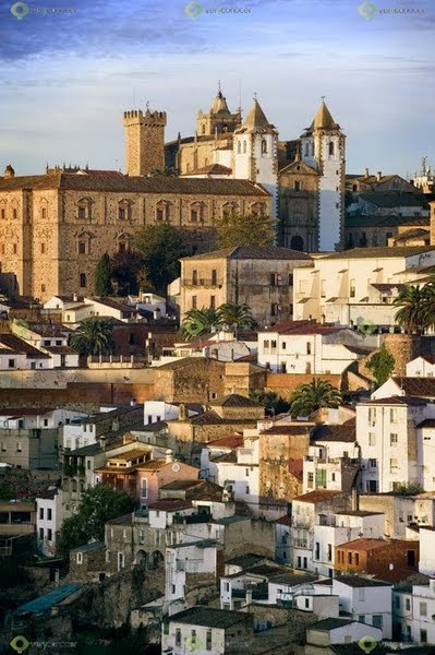 Caceres in Extremadura, home of WOMAD Festival and stunning Old Town!