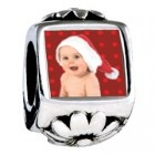 charm with photo on.  Great!