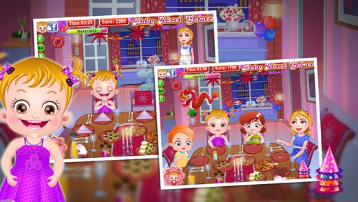 Join Baby Hazel and her friends for New Year celebrations and enjoy fun-filled activities at the Party. https://itunes.apple.com/gb/app/baby-hazel-newyear-party/id948596484?mt=8