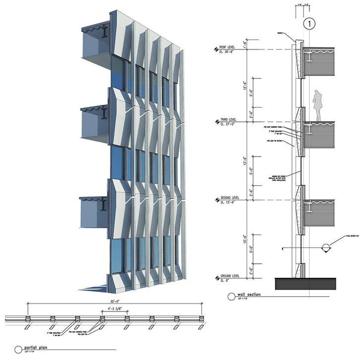 Grc Cladding Means What : Best images about construction details détails de