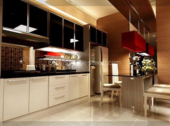 Color Paint modern kitchen design