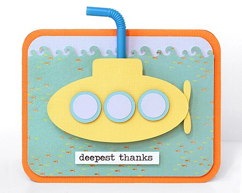 Should have used this as our Wedding Thank You cards...we all live in a Yellow Submarine!