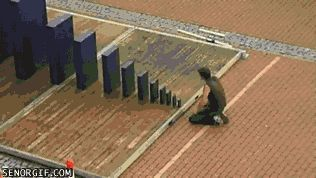 If You Can Beat The Smallest Obstacle You Can Topple The Biggest