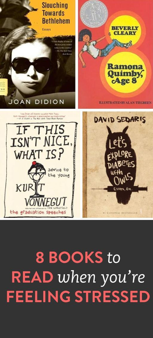books to read when you're feeling stressed