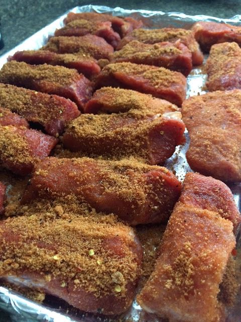 BEST, Most Tender, Fall Apart, Boneless Pork Ribs with Dry Rub by Deals to Meals