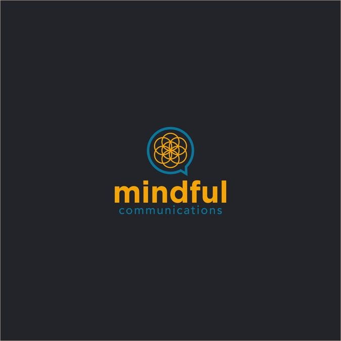 Create an unforgettable logo to entice corporations to explore mindful communication skills training by atmeka