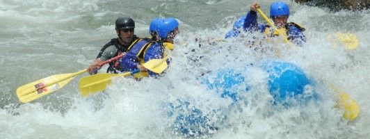 Whitewater rafting is great fun...Clear Creek is nearby for a quick trip.