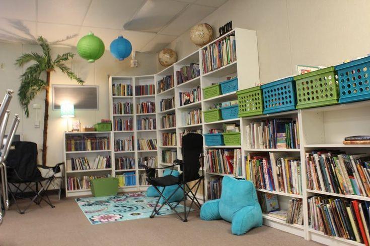 Classroom Ideas For 5th Grade ~ Amazing classroom library th grade set up