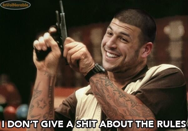 Aaron Hernandez Funny Memes and Photoshops