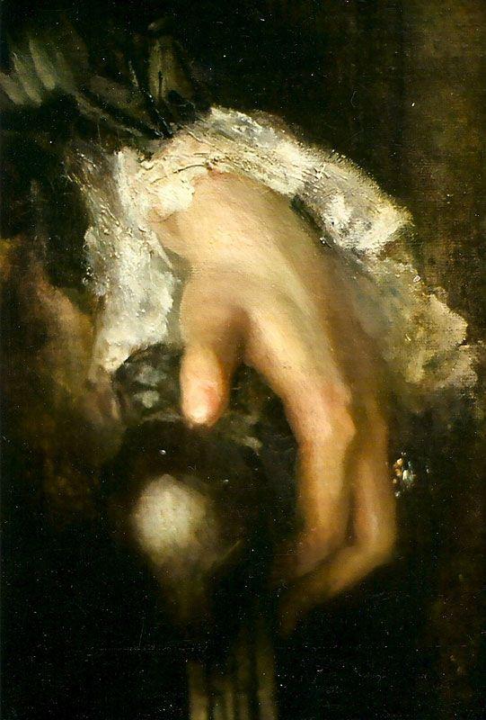 John Singer Sargent Fanny Watts (detail)