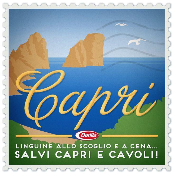 #Capri: Linguine allo scoglio e a cena salvi Capri e cavoli!