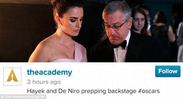 Confunden a Penélope Cruz con Salma Hayek en el Instagram de los Oscar | Mira la foto - Yahoo Cine España