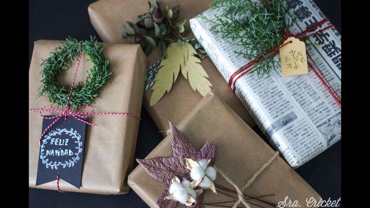 Envolver regalos #wrappinggirfts #video #wrap #gifts #envolver #original #chirstmaswrapping #navidad #videotutorial