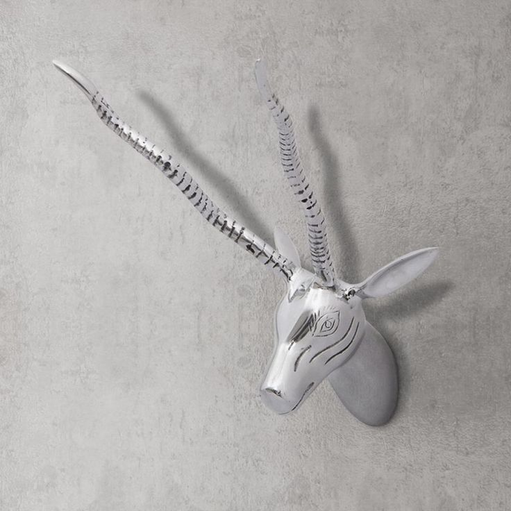 Mounted Deer Head Hanging Wall Mount Animal Head Home Unique Art Decoration