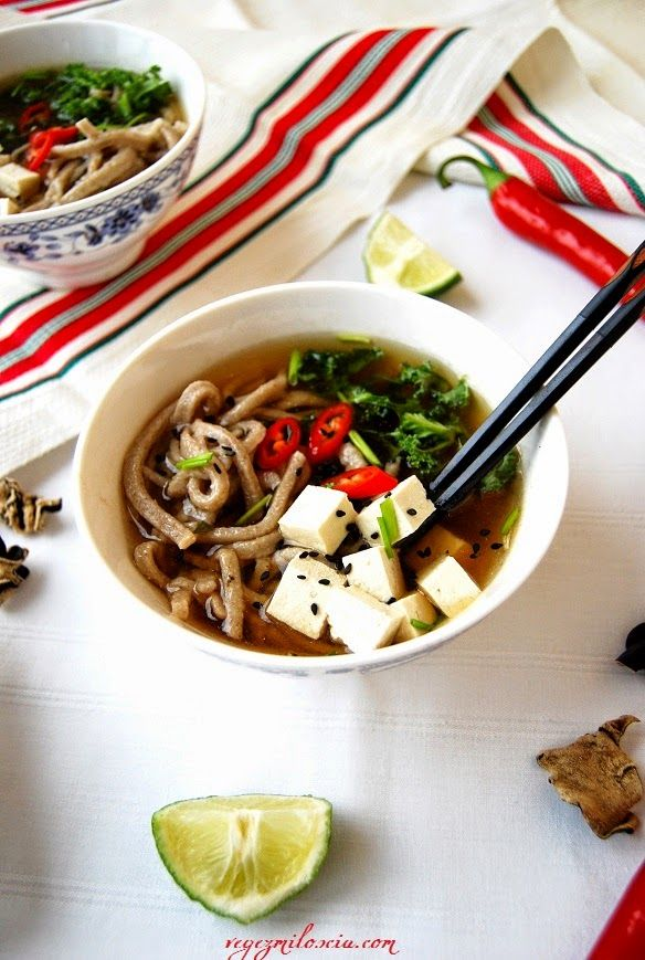 Pho with home made soba