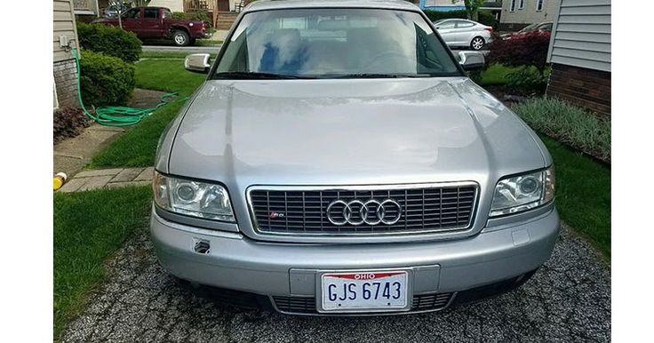 Bag Yourself This Rare And Really Awesome 2001 Audi S8 #Audi #Audi_S8