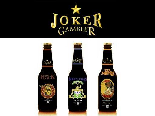 Joker gambler Ediciones especiales Bock Schwarz Wheat lager