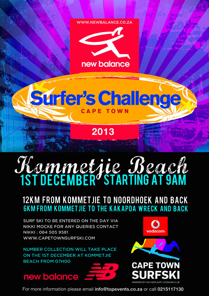This is the Surfers Challenge 2013 - See you there for an early 9am start in the water. Are you a paddler? Become one, with this fun event.