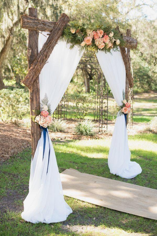 New Outdoor Decoration Ideas #weddingideas in 2020   Wedding arch ...
