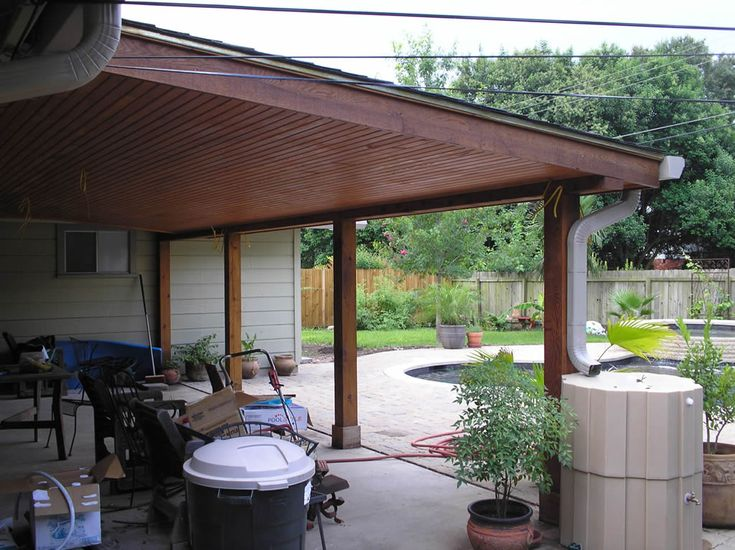 17 best images about ideas for the house on pinterest for Wood deck cover plans