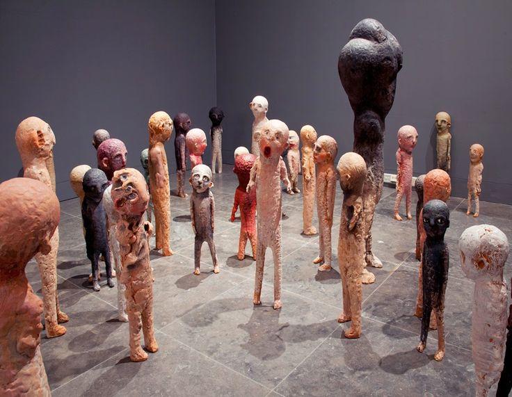 Tommi Toija (s. 1974) Exhibition Mutatis Mundis, Amos Anderson 2014.