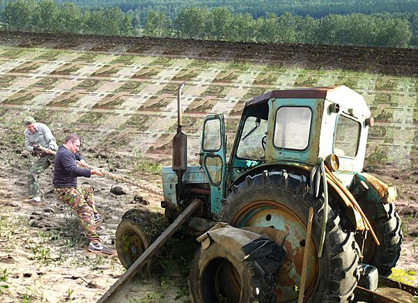 Маленькая притча о работе и знаниях: У крестьянина перестал работать трактор. Все попытки крестьянина и его соседей починить машину были напрасны. Наконец он позвал специалиста. Тот осмотрел трактор, попробовал, как действует стартер, поднял капот и все тщательно проверил. Затем взял молоток, прицелился, один раз ударил по мотору и привел его в действие. Мотор затарахтел, будто он и не был испорчен. Когда мастер подал крестьянину счет, тот, удивленно взглянув на него, возмутился: — Ты хочешь…