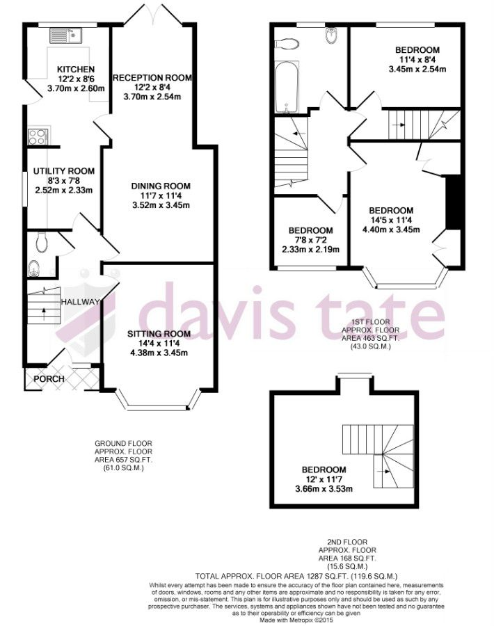 Where to add a downstairs toilet in 1930s terraced house for 3 bedroom house extension ideas