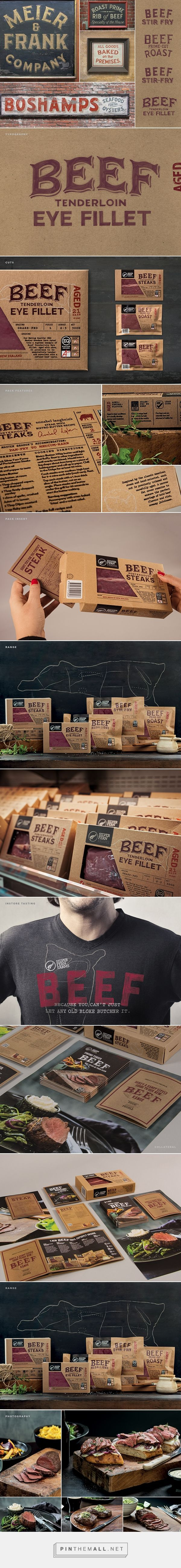 Silver Fern Farms Beef Packaging on Behance - created via http://pinthemall.net