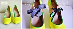 Shoe refashion /how to