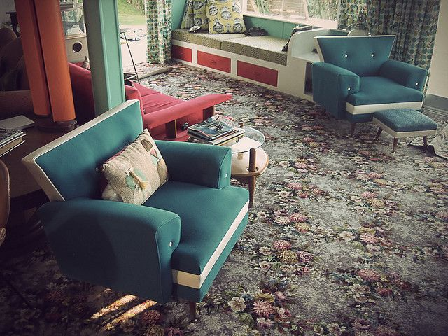 Perfectly retro beach house, just up the coast from Auckland, New Zealand