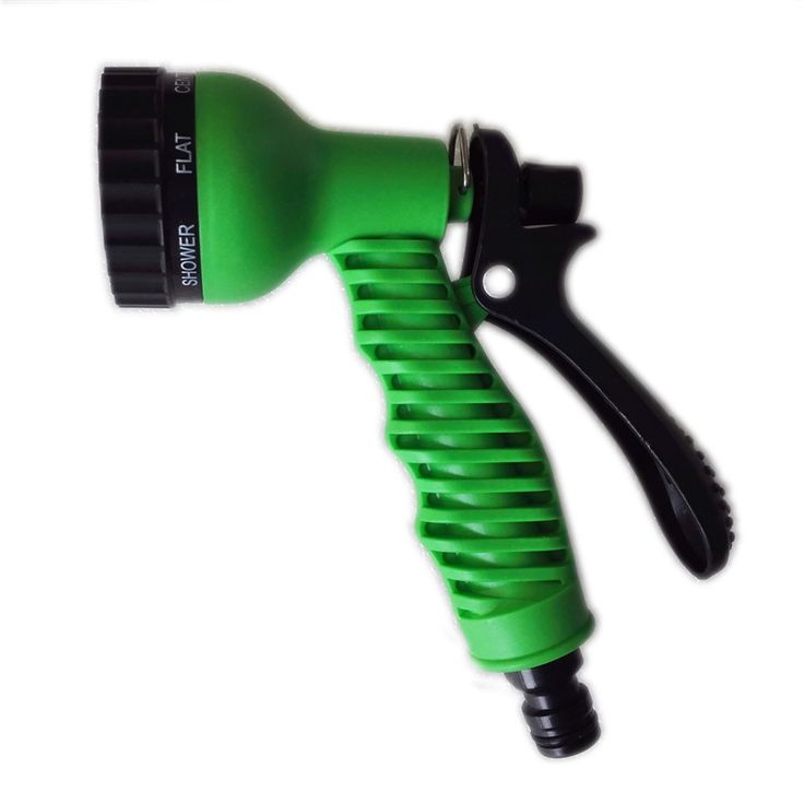 Ajustable Hose nozzles 7 Pattern Garden Water Gun For watering hose spray gun Car Wash, Cleaning, Watering Lawn and Garden * Click the image for detailed description