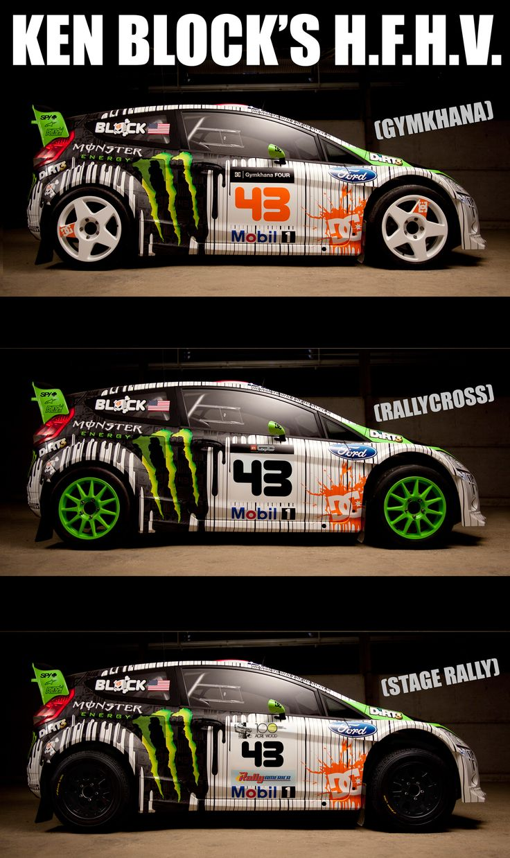 Ken block s h f h v 2011 livery hybrid function hoon vehicle this one car can be