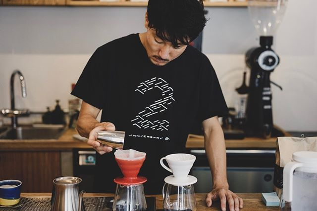 New Barista Satoshi Joined To Our Team Say Hi To Him