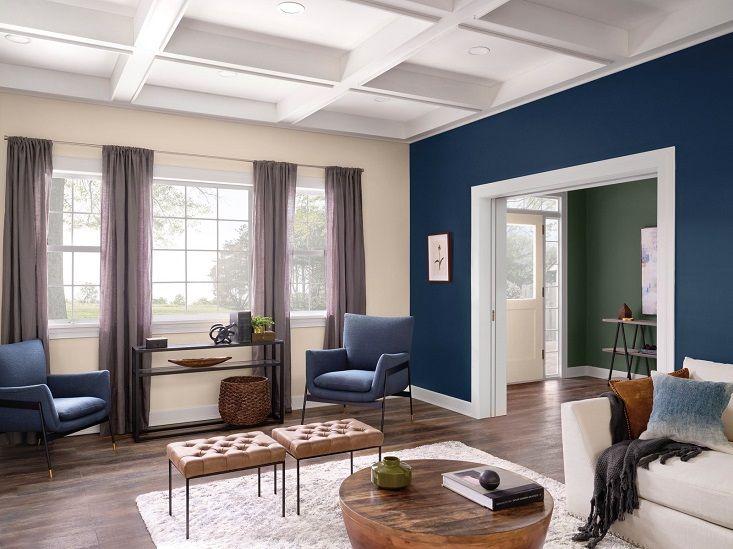Tendenze colori pareti 2021 | Colore per il soggiorno ...