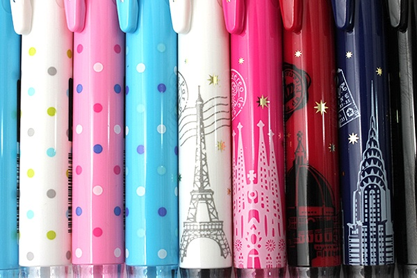 Zebra Prefill 4 Color Multi Pen Body Component - Limited Edition