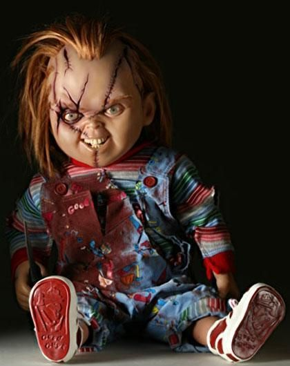 Bad Babysitter let me watch Chucky.... Needless to say I'm STILL afraid of dolls in the dark....