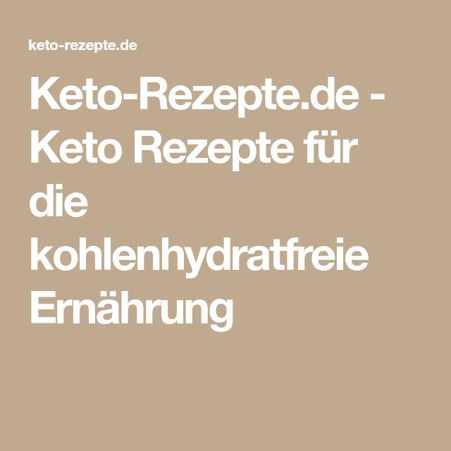Keto-Rezepte.de - Keto Rezepte für die kohlenhydratfreie Ernährung