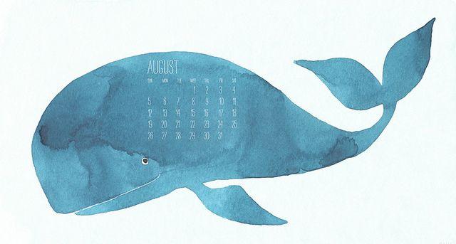 august calendar oana befort